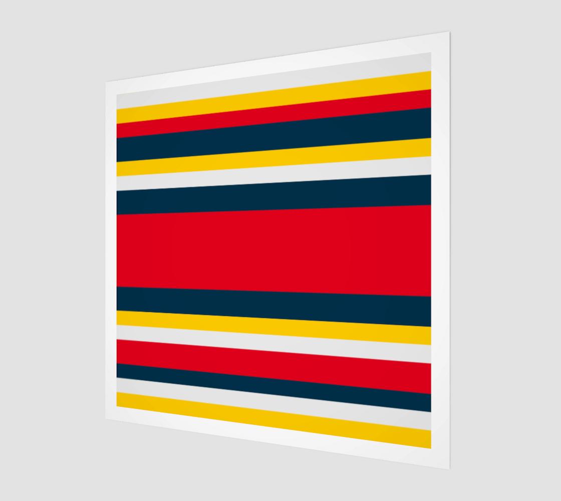 Aperçu de Blue Red Yellow Stripes