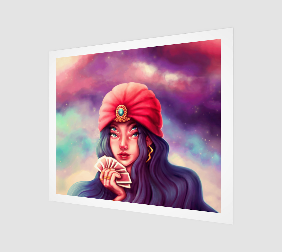 Fortune Teller Print 24x20 preview
