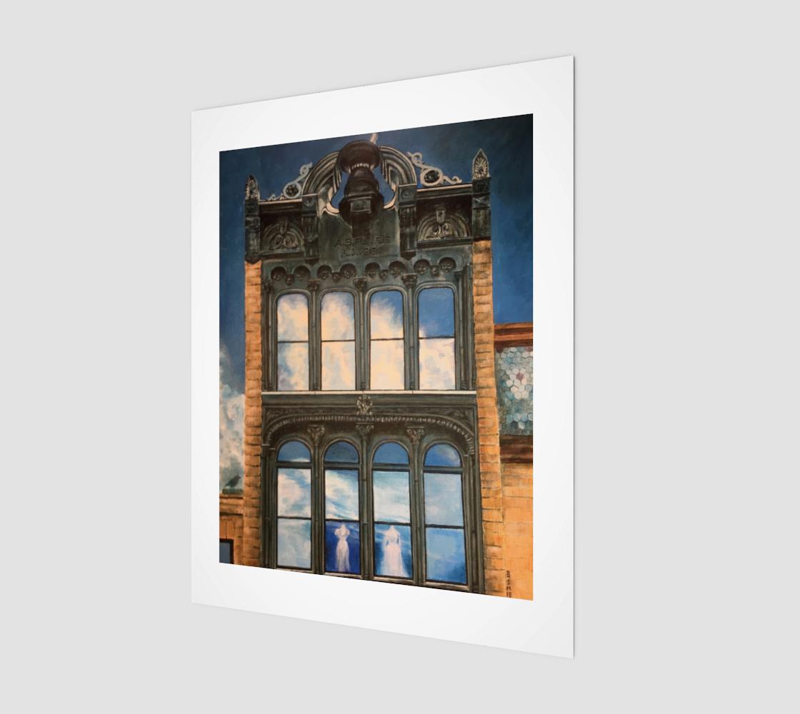 """Petrie Building 11""""x14"""" preview"""