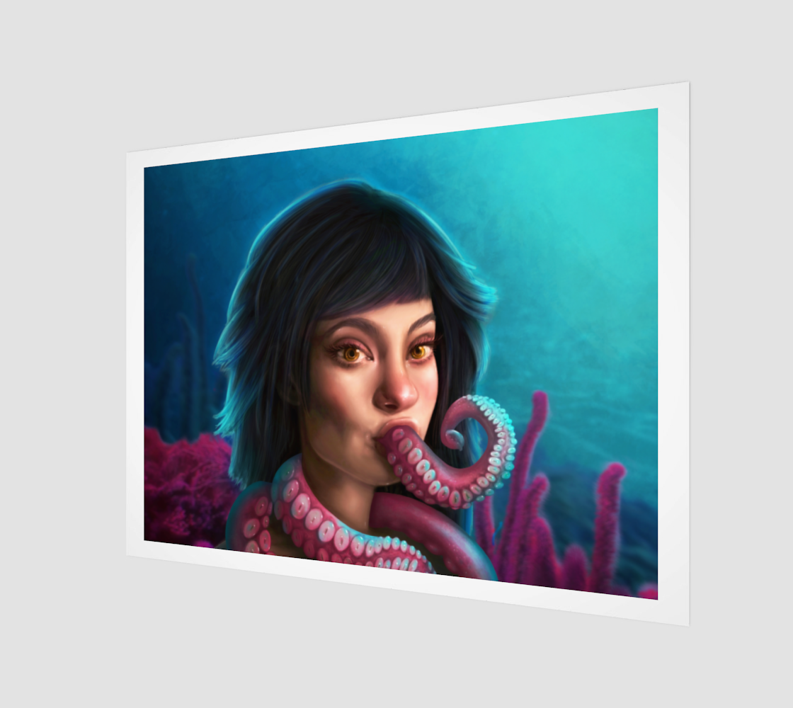 Tentacles Print 4:3 preview