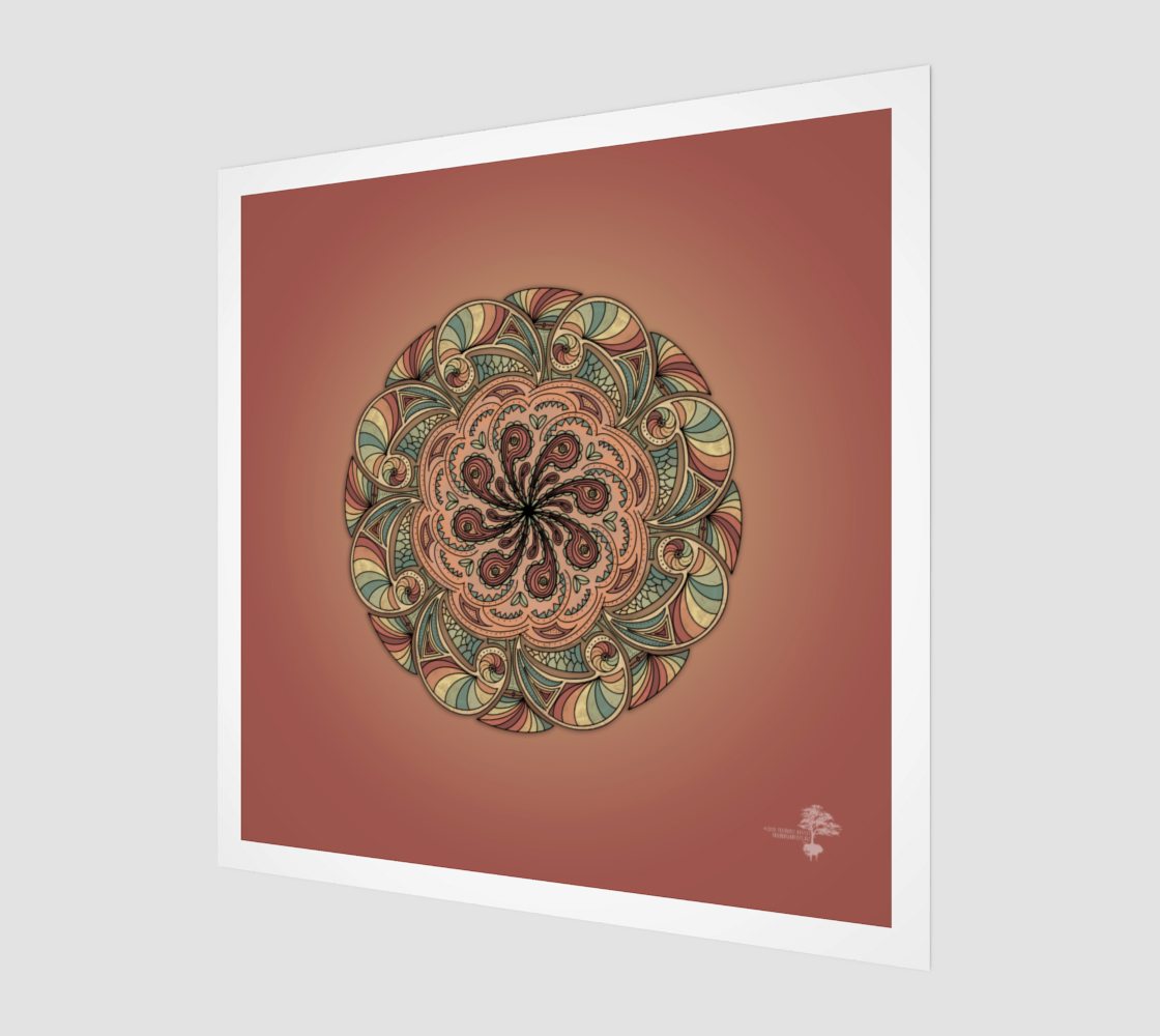 Moroccan Shells Mandala preview