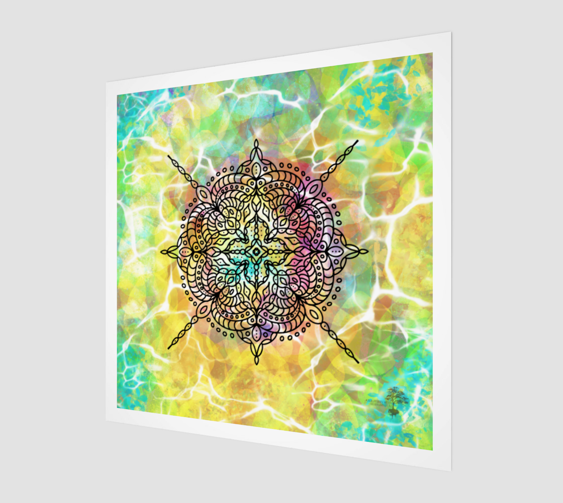 Mandala in Spring preview