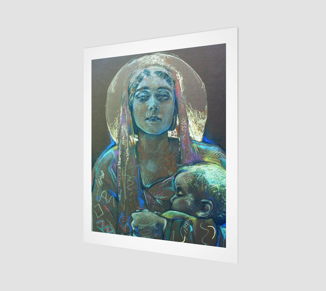 The One Eternal Gift / Devin Wall Art Print preview