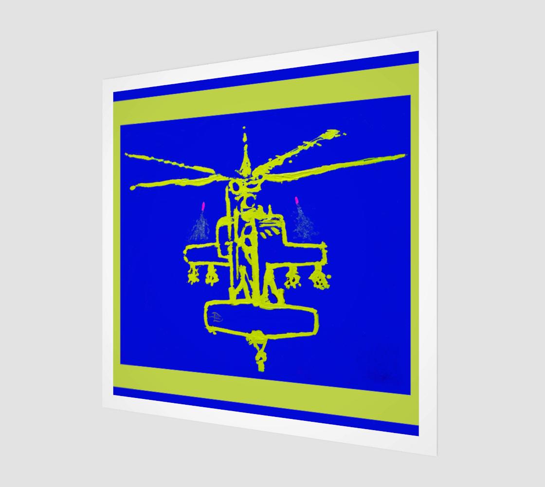 Apacheglyph Flashcard / Devin Fine Art Wall Print preview