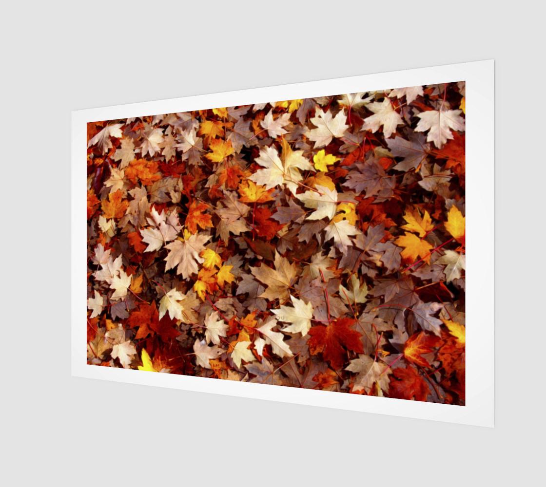 Aperçu de Tapis de feuilles d'érable  |  Maple Leaf Carpet
