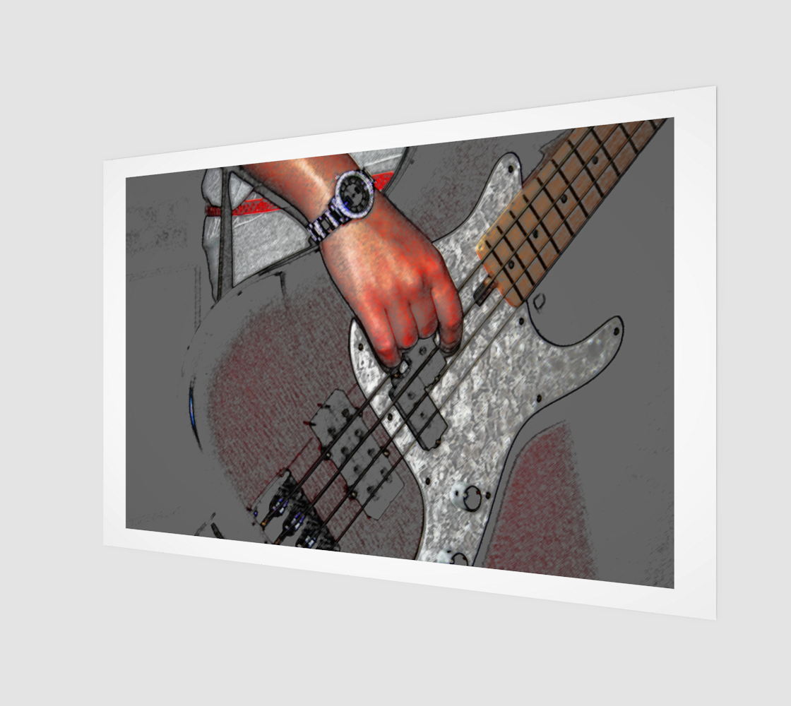 Bass 4 Wall Art preview