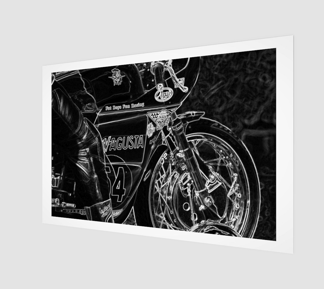 Motorcycle 1 Poster Print preview
