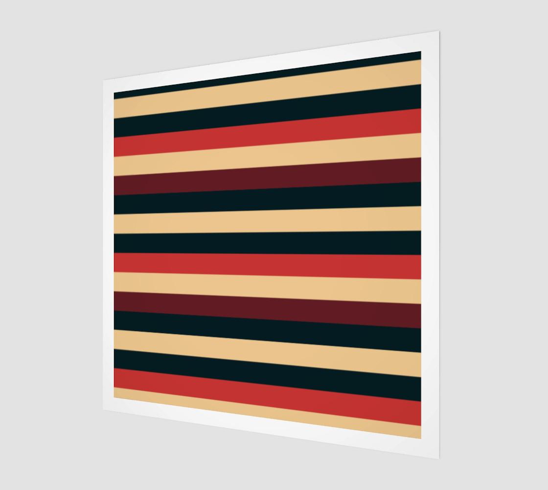 Aperçu de Retro Repeat Stripes
