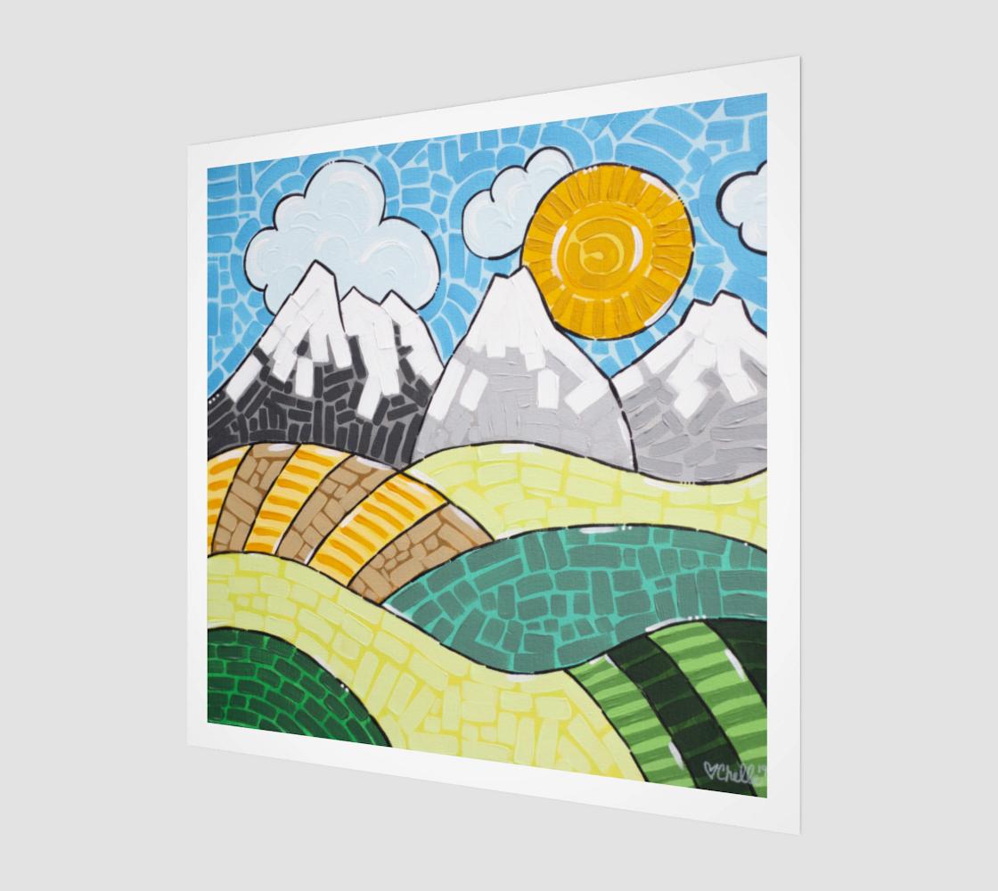 Alberta (Painting) Art Print preview