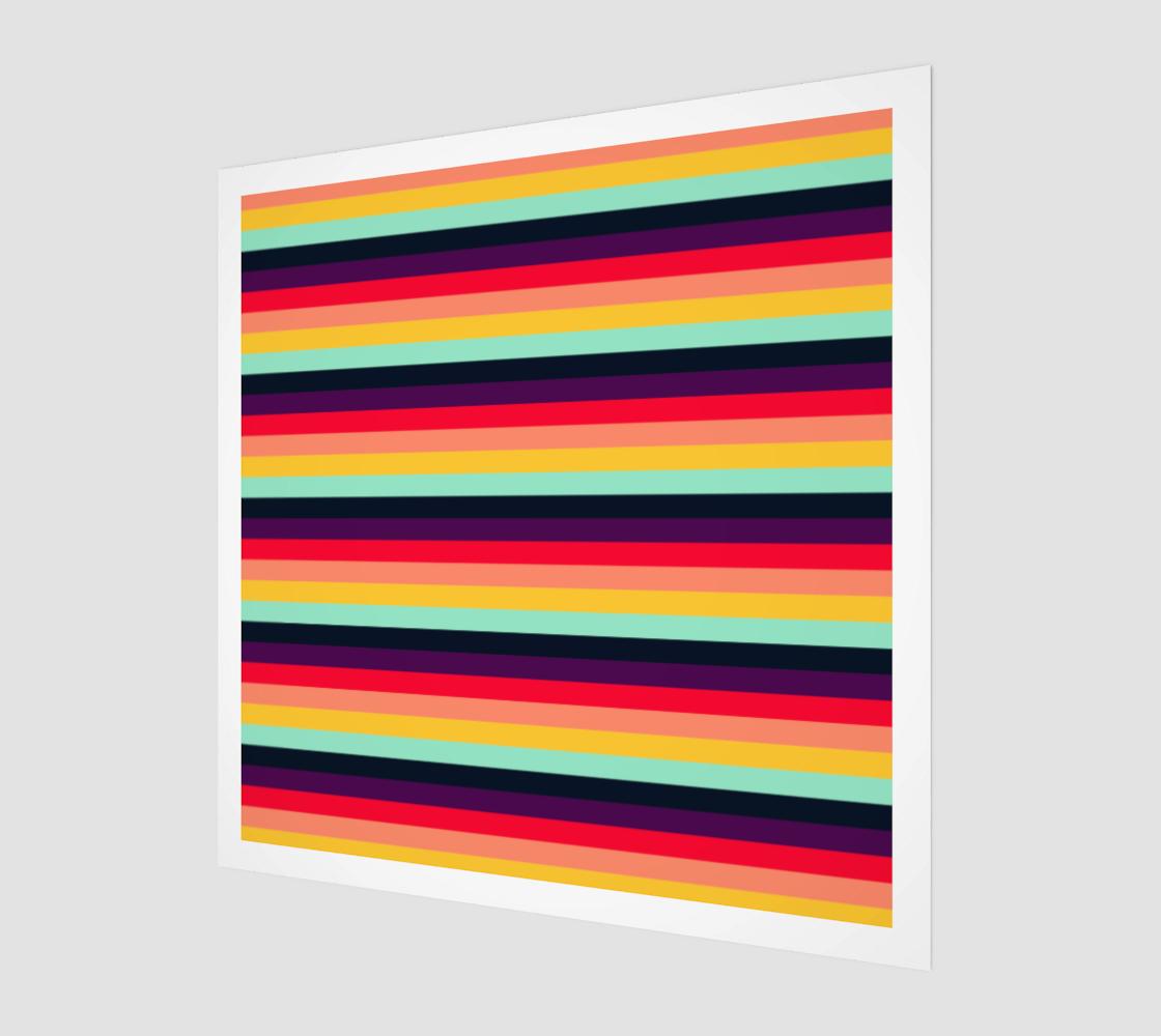 Aperçu de Contrast Rainbow Stripes