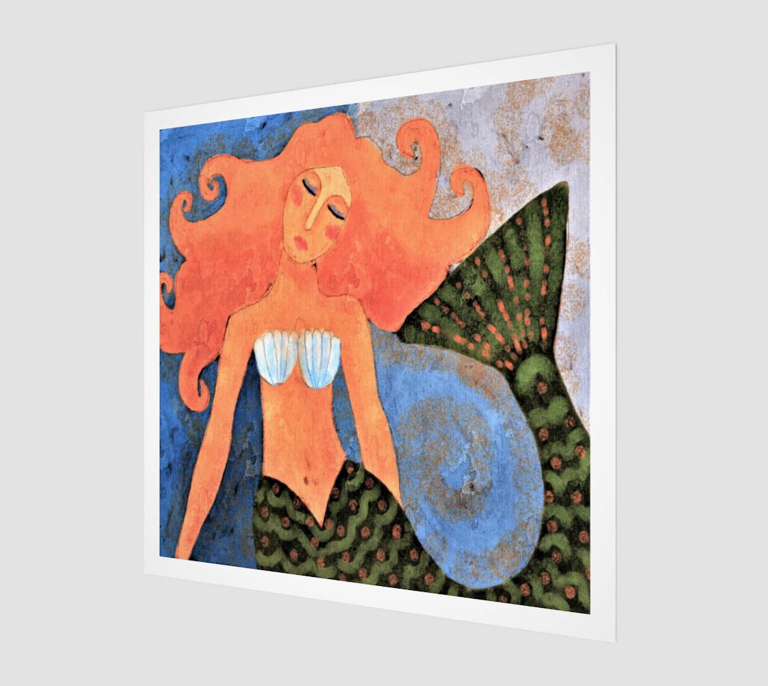 Aperçu de Beautiful Mermaid Abstract Painting