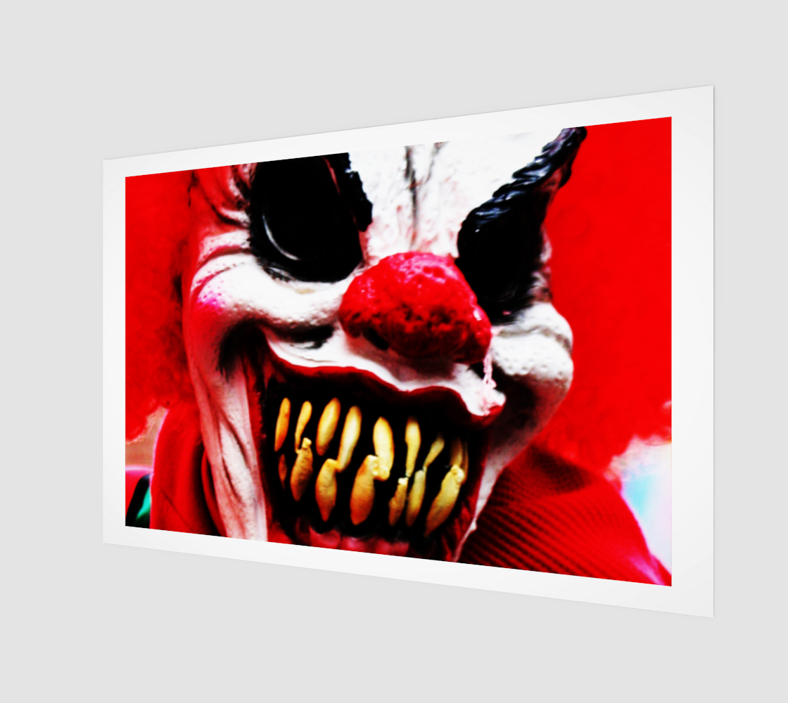 Clown 1 Art Print preview