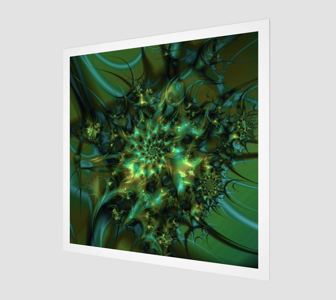 Cosmic Bud Cannabis Marijuana Art preview