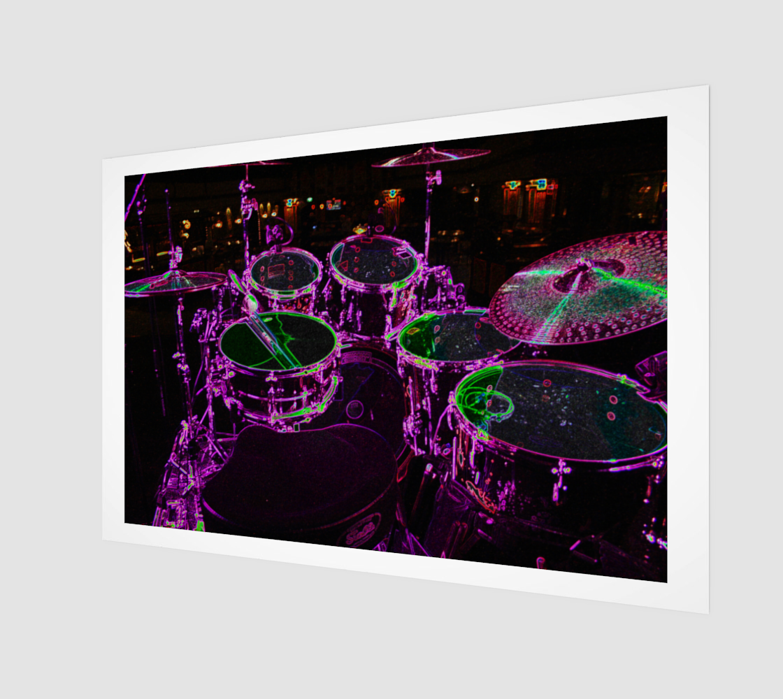 Drums Poster Print preview