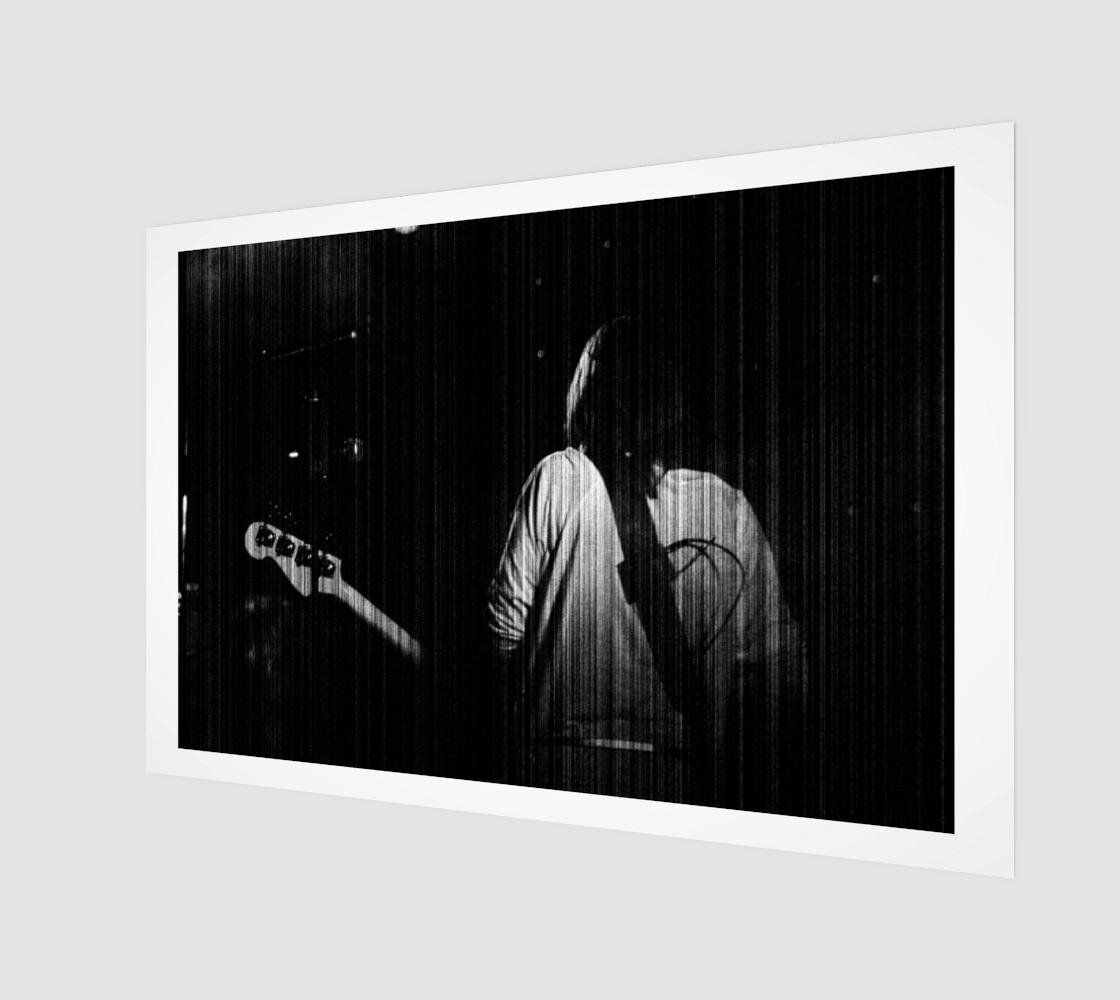 Guitar 3 Wood Print preview
