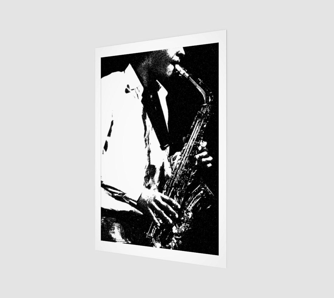 Saxophone Art Print preview