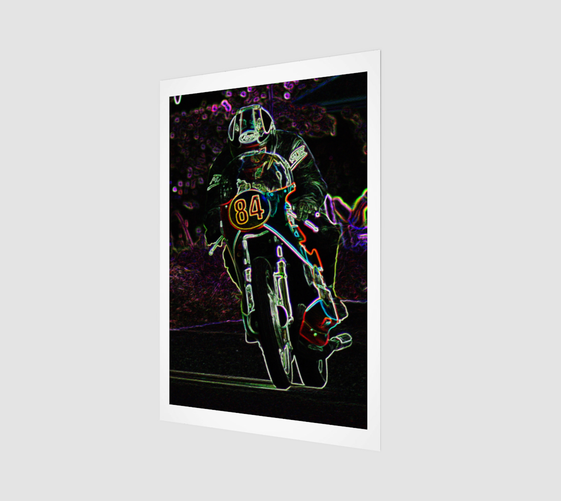 Motorcycle 2 Art Print preview