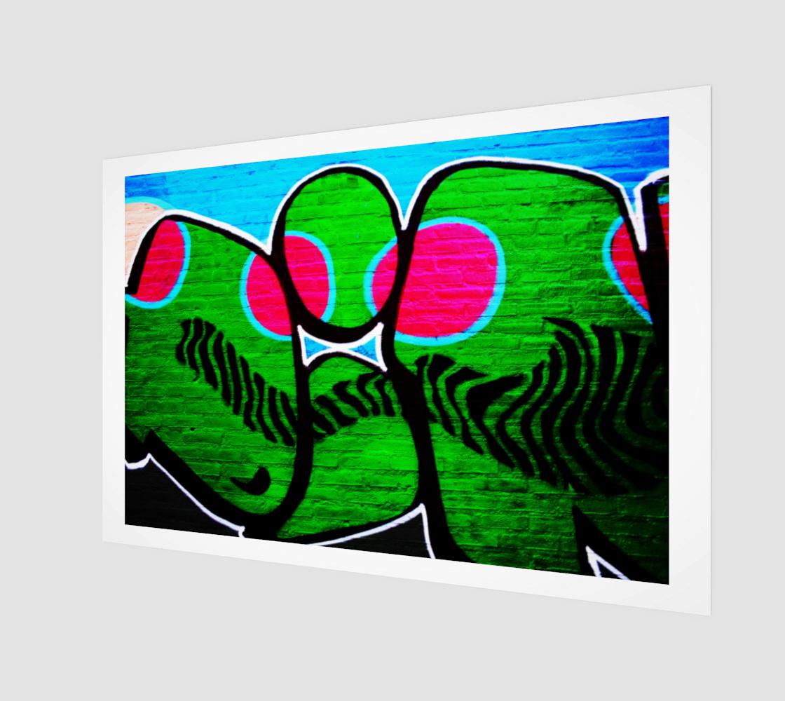 Graffiti 12 Art Print preview