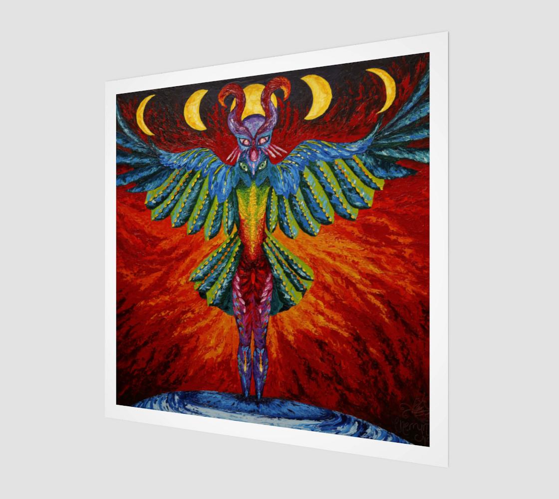 Raven Goddess Poster preview
