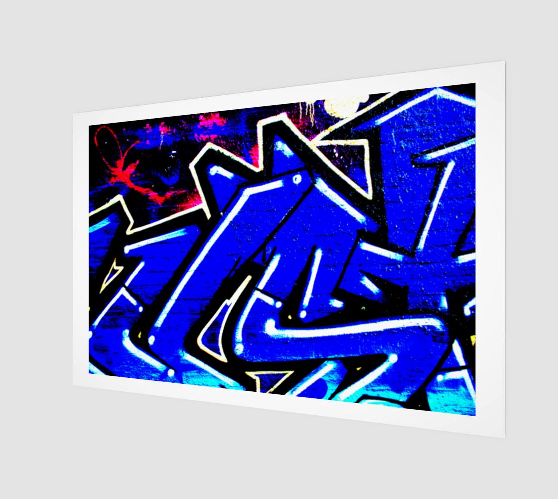 Graffiti 13 Art Print preview