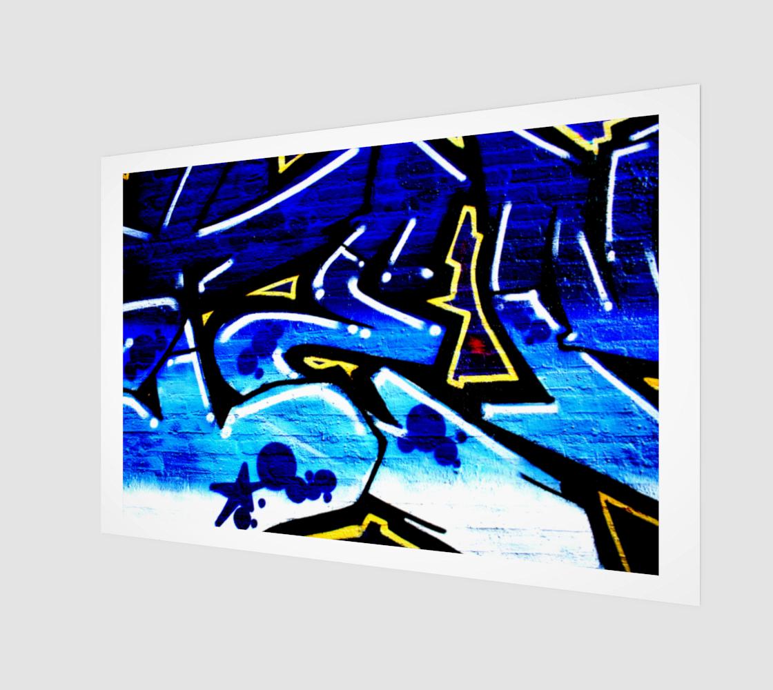 Graffiti 15 Art Print preview