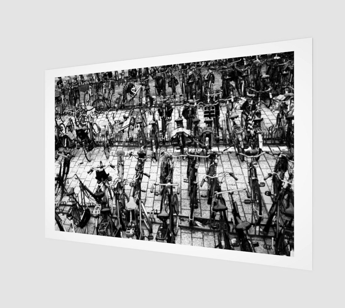 Hengelo 7 Wood Print preview