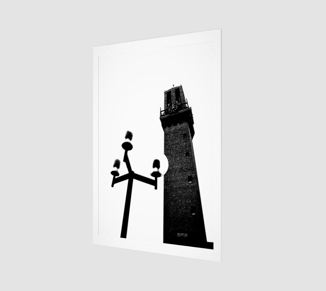 Hengelo 12 Wood Print preview