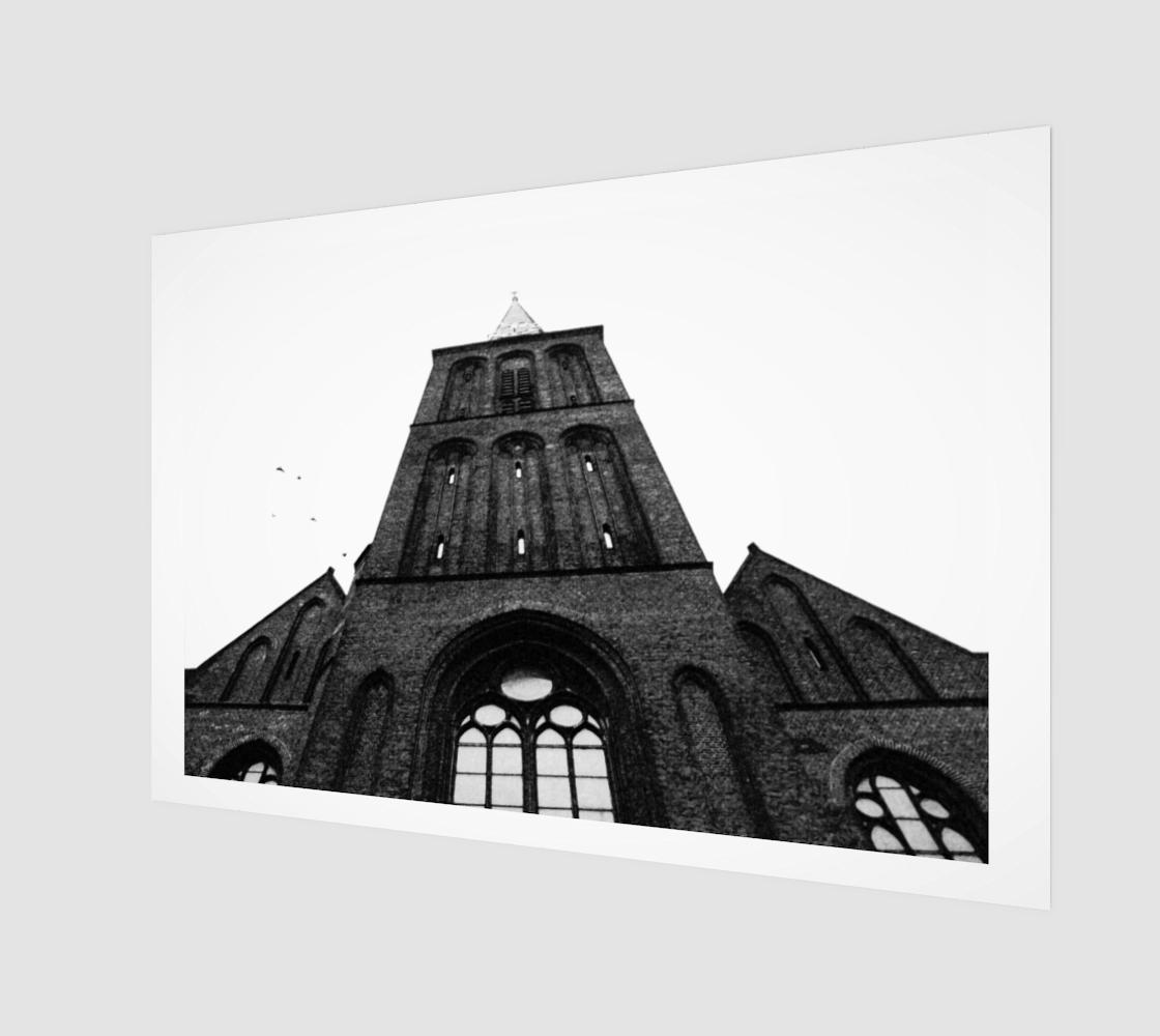 Hengelo 14 Wood Print preview