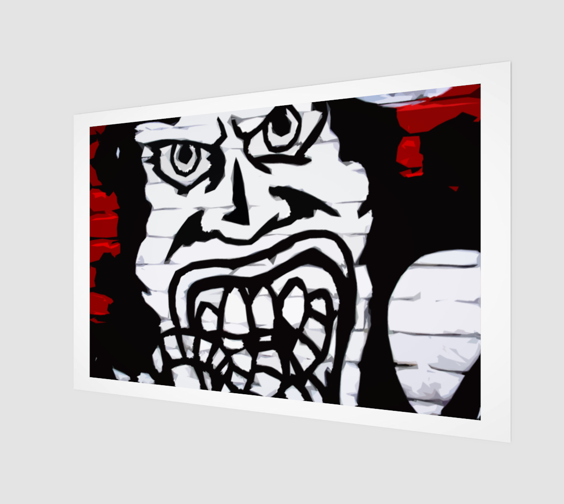 Graffiti 16 Art Print preview