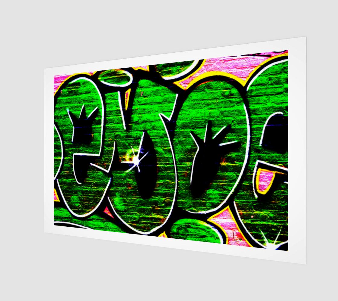 Graffiti 18 Art Print preview
