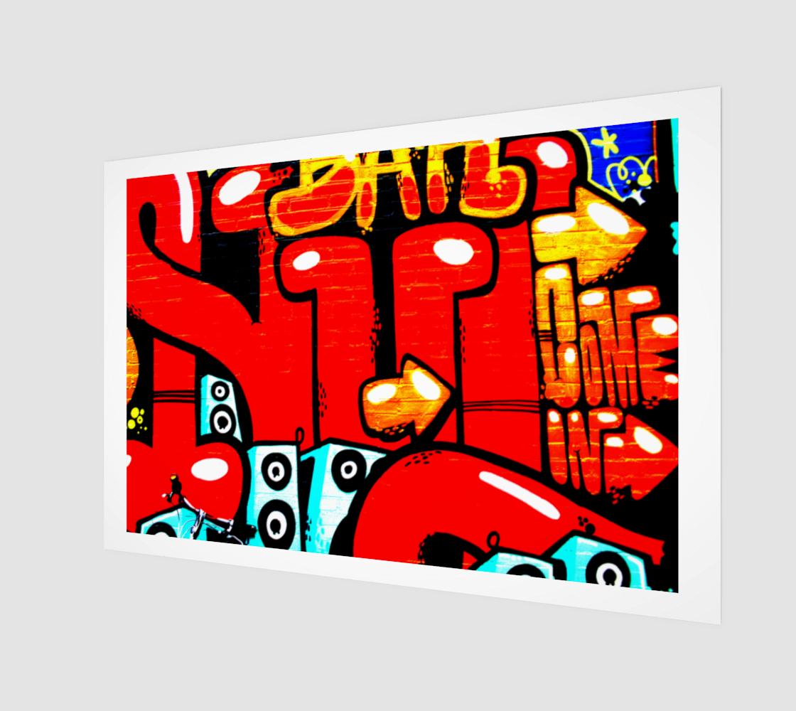 Graffiti 19 Art Print preview