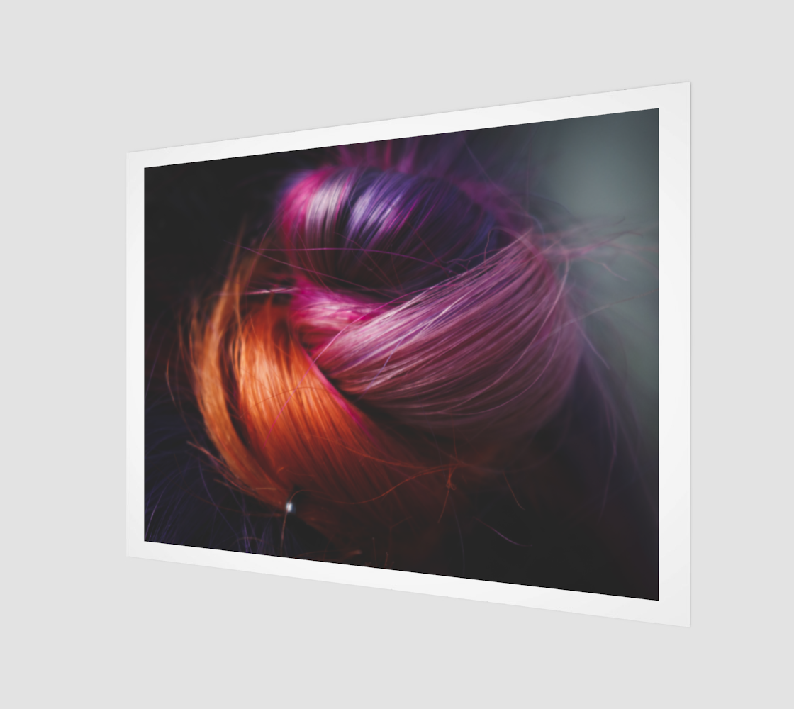 Rainbow Hair Bun preview