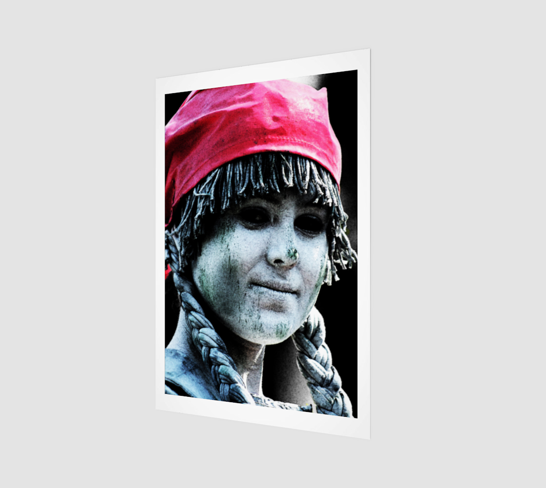 Street Performance 4 Poster Print preview