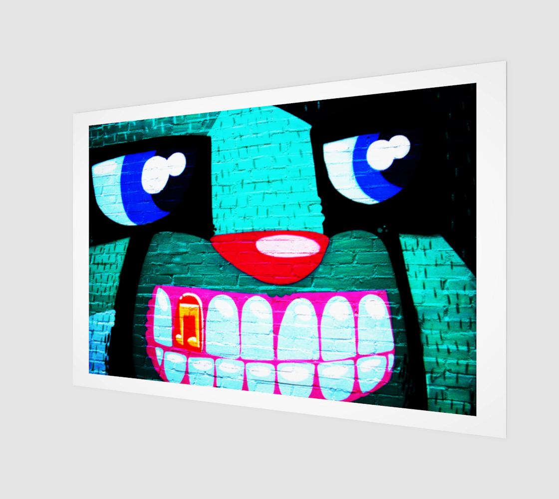 Graffiti 20 Art Print preview