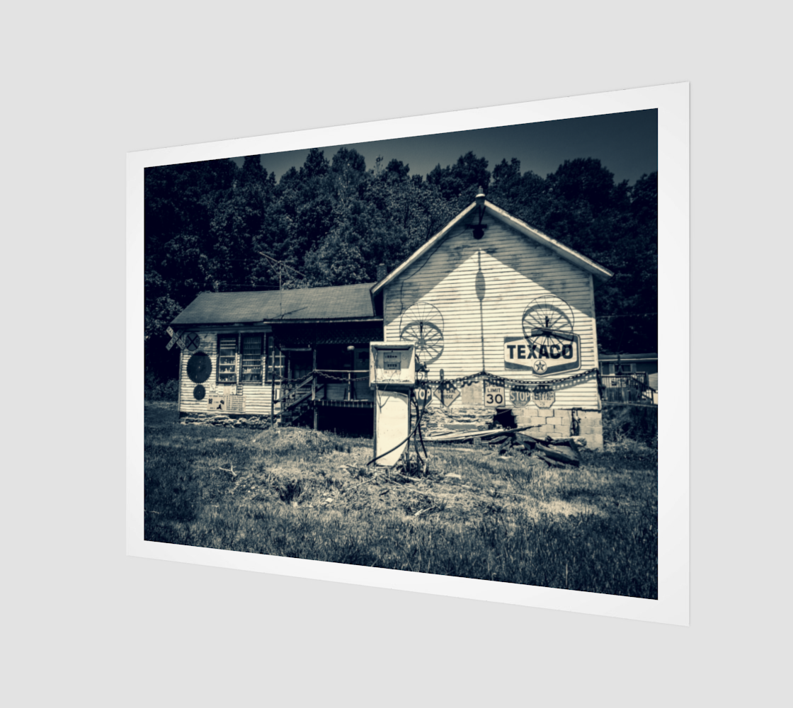 Rustic Gas Station preview