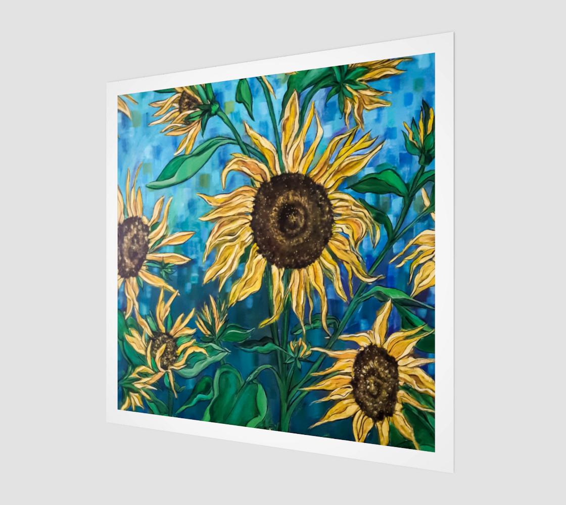 Aperçu de Summer Sunflowers Wall Art