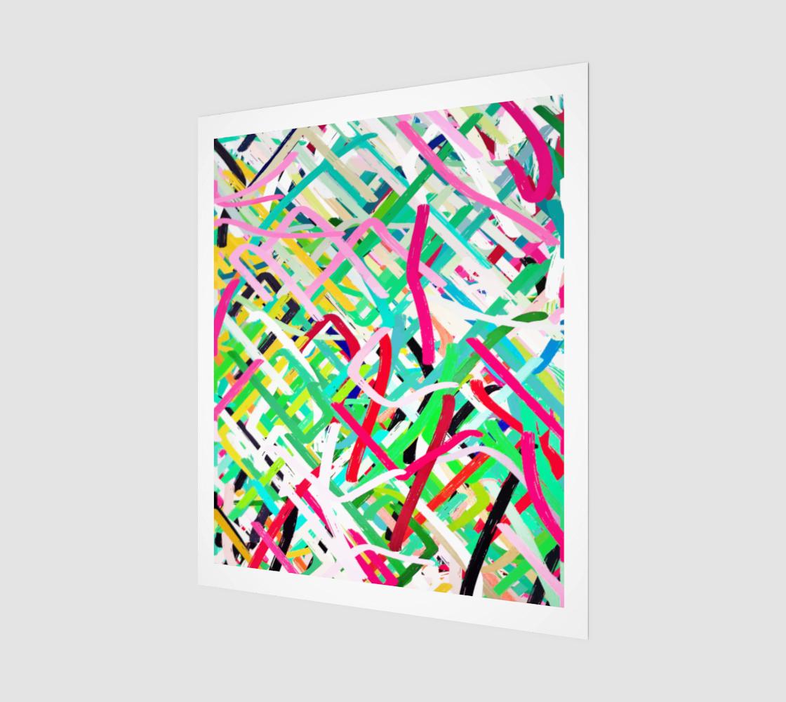 Aperçu de Rush of Emotion Art Print 20 x 24