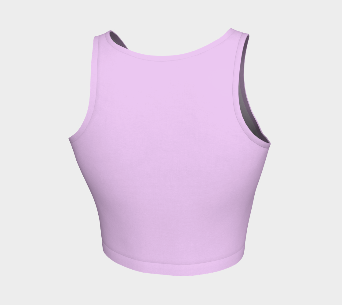 Mauve Color Crop Top preview #2