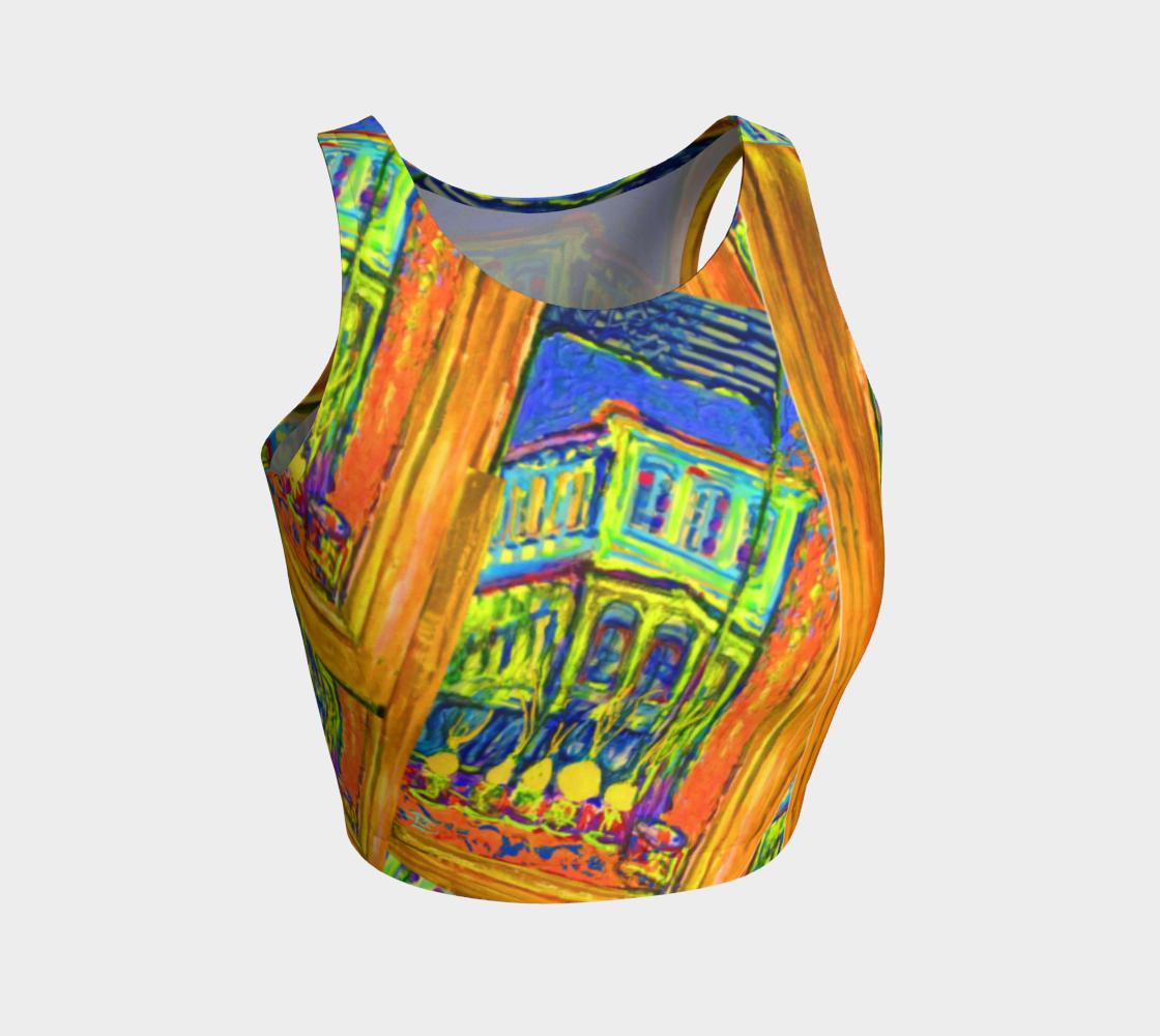 Channeling Vincent / Virtual Vincent™ Expressionist Crop Top  preview