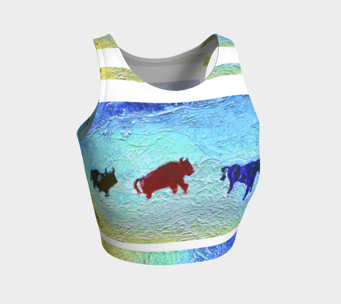 Red Buffalo Crop Top preview