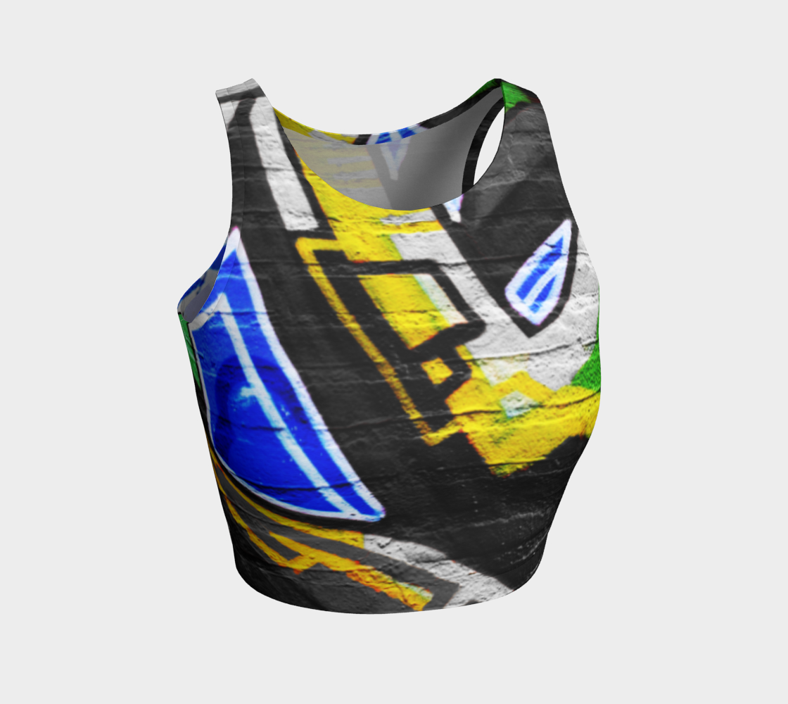 Graffiti 6 Athletic Crop Top preview