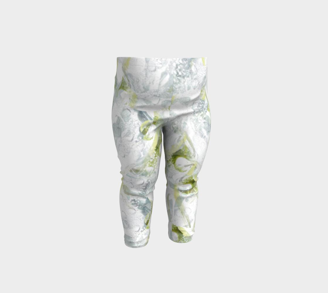 Aperçu de Spring Equinox Baby Leggings by Laura Davis Art Studio