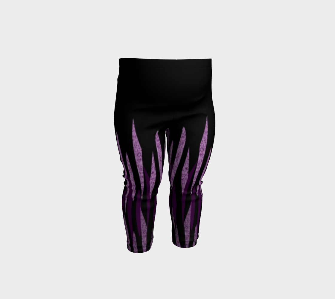 Purple Ice Abstract Baby Leggings preview