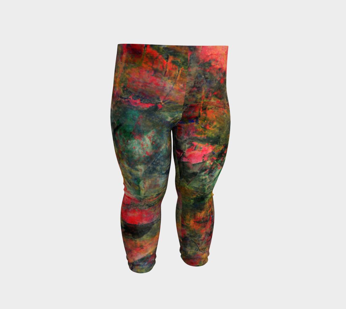 Abstract Garden Leggings preview #2