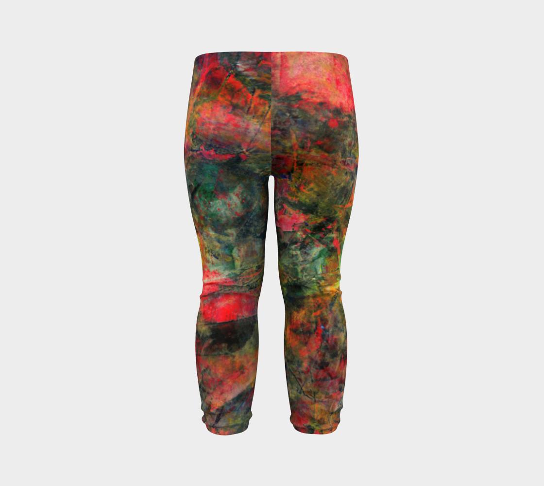 Abstract Garden Leggings preview #7
