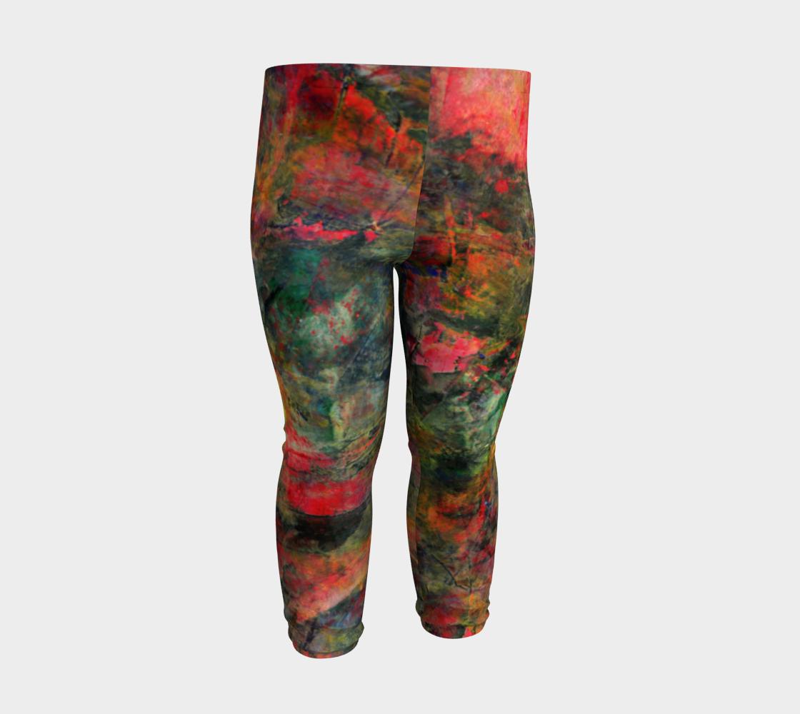 Abstract Garden Leggings preview #3