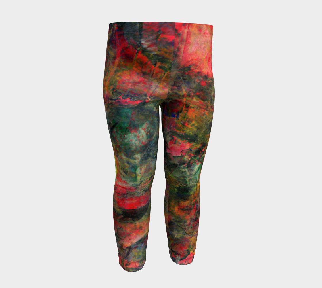 Abstract Garden Leggings preview #4