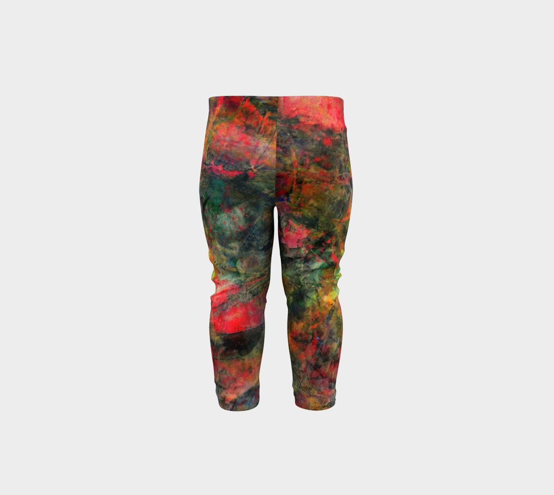 Abstract Garden Leggings preview #5