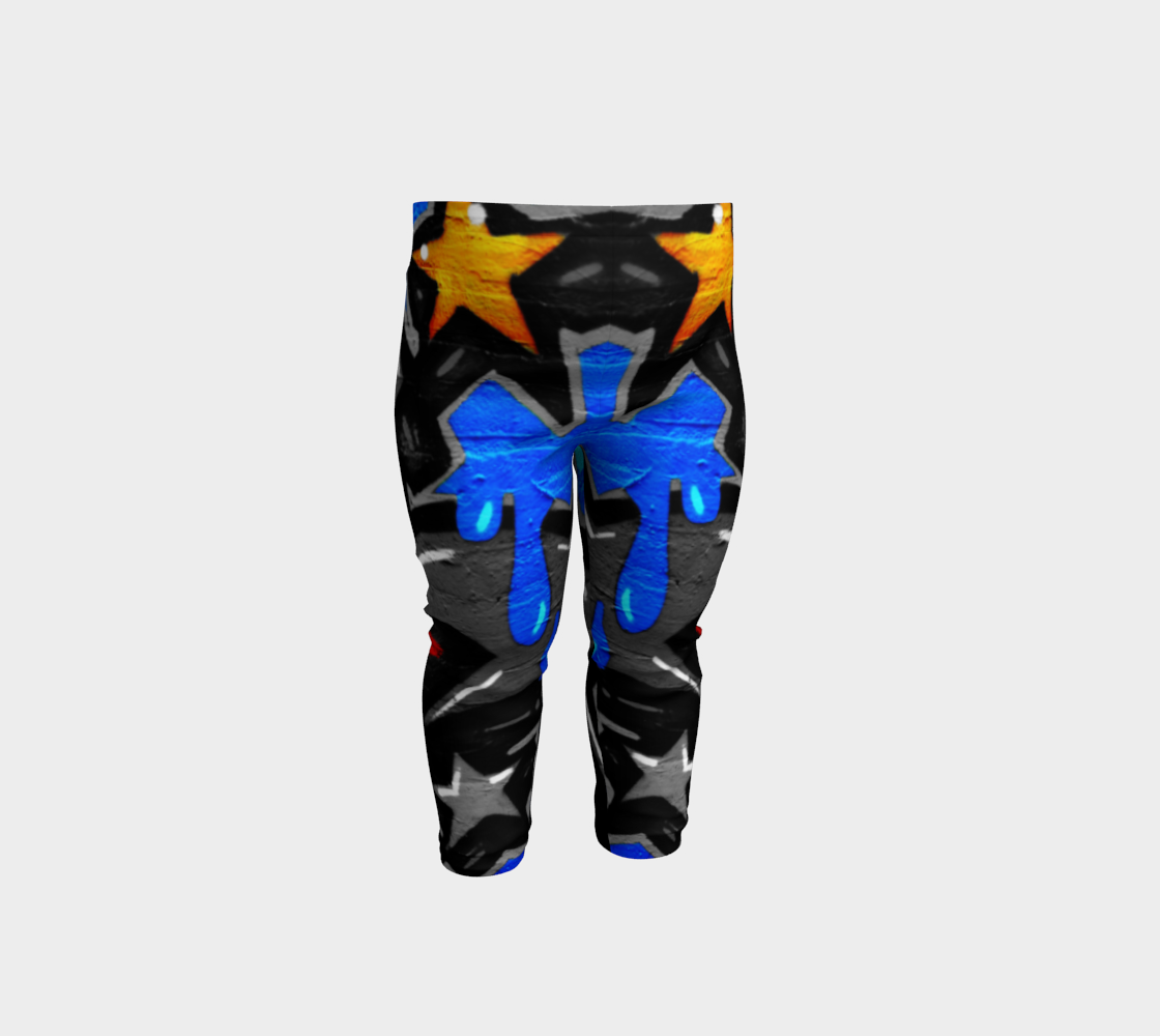 Graffiti 3 Baby Leggings preview