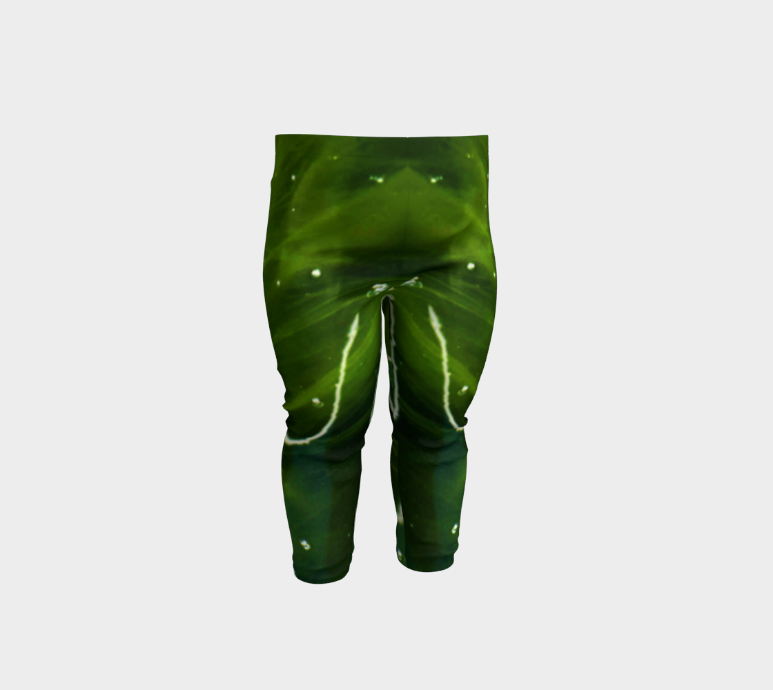 Green Algae and Water Baby Leggings preview